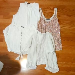 4 tops from Suzy Shier